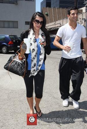 Kim Kardashian and her dance partner Mark Ballas