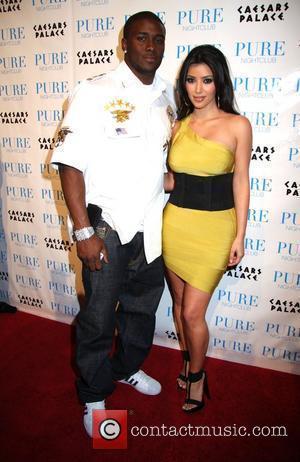 Reggie Bush and Kim Kardashian Khloe Kardashian celebrates her birthday at PURE Nightclub in Caesars Palace Hotel and Casino Las...