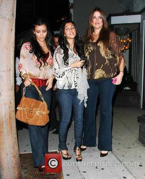 Kim Kardashian, Kourtney Kardashian and Khloe Kardashian