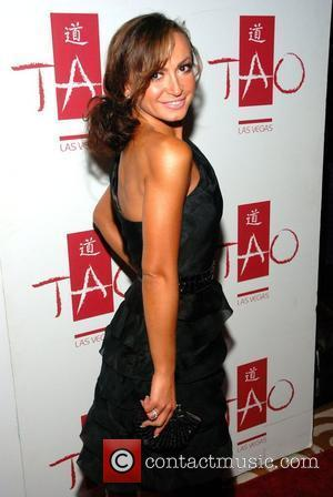 Karina Smirnoff arriving at Tao nightclub inside the Venetian Hotel Las Vegas, Nevada - 13.06.08
