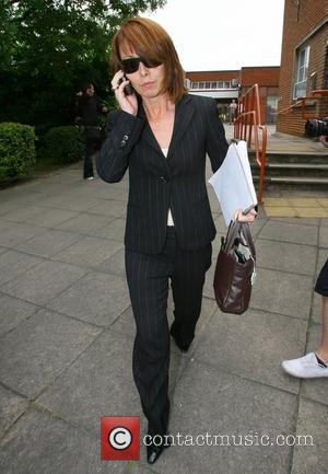 Kay Burley outside Uxbridge Magistrates Court Sky News presenter Kay Burley had earlier pinned a photographer against a wall today...