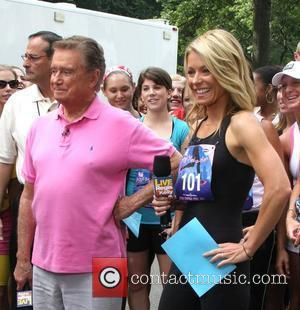Regis Philbin and Kelly Ripa