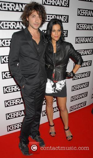 Alex Zane and Christina Scabbia Kerrang! Awards 2008 at the Brewery - Arrivals London, England - 21.08.08
