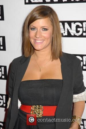 Caroline Flack Kerrang! Awards 2008 at the Brewery - Arrivals London, England - 21.08.08