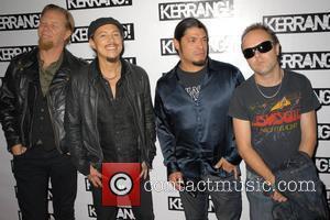 Metallica Kerrang! Awards 2008 at the Brewery - Arrivals London, England - 21.08.08