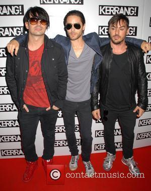 Thirty Seconds to Mars with Jared Leto Kerrang! Awards 2008 at the Brewery - Arrivals London, England - 21.08.08