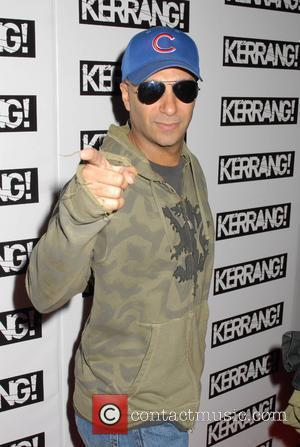 Tom Morello of Rage Against the Machine Kerrang! Awards 2008 at the Brewery - Arrivals London, England - 21.08.08