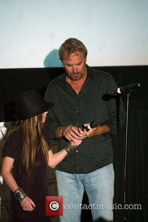 Kevin Costner and His Co-star Madeline Carroll