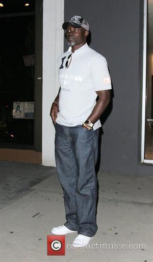 Djimon Hounsou  leaving Madeo resteraunt in West Hollywood Los Angeles, California - 27.06.08