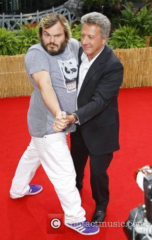 Jack Black and Dustin Hoffman