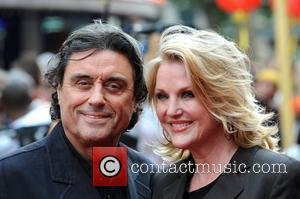 Ian McShane and Guest 'Kung Fu Panda' UK Premiere held at the Vue Leicester Square - Arrivals London, England -...