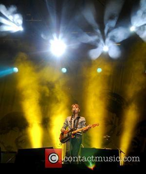 Alex Kapranos of Franz Ferdinand Latitude Festival - Day One Suffolk, England - 18.07.08
