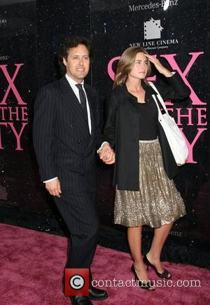 David Lauren, Lauren Bush and Sex And The City