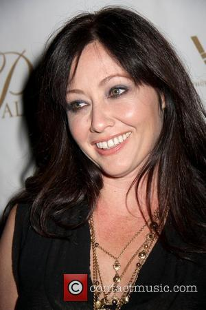 Shannen Doherty Grand opening of Lavo Restaurant and Nightclub at the Palazzo - arrivals Las Vegas, Nevada - 13.09.08