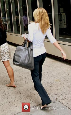 Kelly Ripa leaving ABC Studios after appearing on 'Live with Regis and Kelly' New York City, USA - 17.06.08