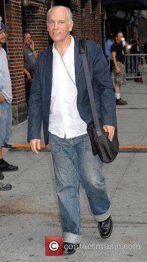 John Malkovich and David Letterman