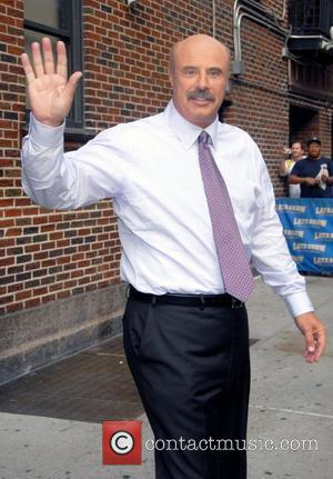 Phil McGraw aka Dr. Phil outside the Ed Sullivan Theater for the 'Late Show With David Letterman' New York City,...