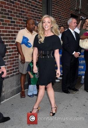 Jane Krakowski outside the Ed Sullivan Theatre for the 'Late Show With David Letterman' New York City, USA - 18.06.08