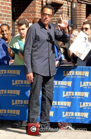 Brad Garrett and David Letterman