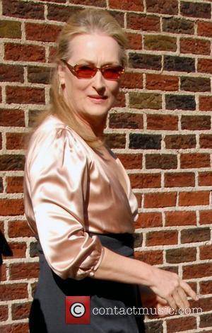 Meryl Streep and David Letterman