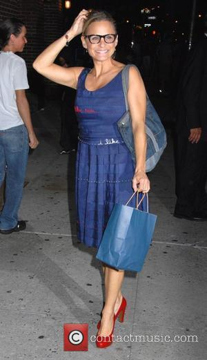 Amy Sedaris Celebrity guests outside CBS' 'Late Show with David Letterman' at the Ed Sullivan Theatre New York City, USA...