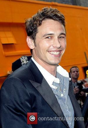 James Franco and David Letterman