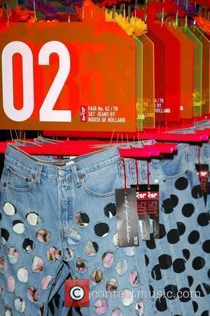 Launch of 501 Levis Jeans by House Of Holland at Selfridges