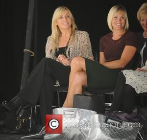 Jenny Falconer and Michelle Collins