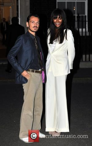 Matthew Williamson and Naomi Campbell