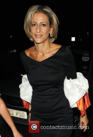 Emily Maitlis  Fashion For Relief show at London Fashion Week - outside London, England - 17.09.08