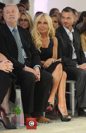 Donatella Versace London Fashion Week Spring/Summer 2009 - Fashion Fringe - Front Row London, England - 18.09.08