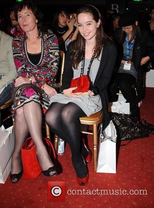Anna Popplewell  London Fashion Week - Spring/Summer 2009 - Qasimi - Catwalk Held at BFC Tent, Natural History Museum...