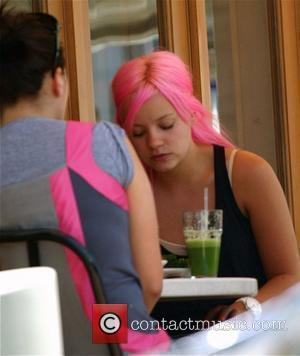 Lily Allen and Her Assistant