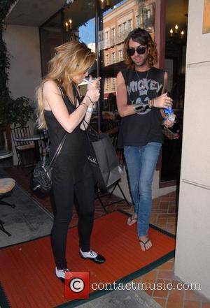 Lindsay Lohan and Patrick Aufdenkamp