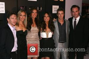 Andrew McCarthy, Kim Raver, Brooke Shields, Lindsay Price, Robert Buckley and Paul Blackhome  At the Lipstick Jungle Premiere Party...