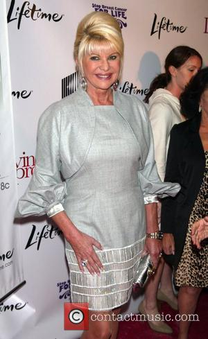 Ivana Trump The World Premiere of the Lifetime TV film 'Living Proof' at the Paris Theatre New York City, USA...