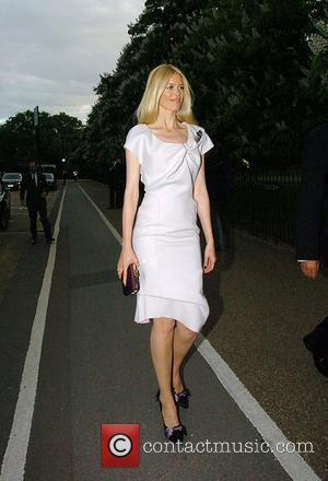Claudia Schiffer Louis Vuitton hosts a dinner for Richard Prince held at the Serpentine Gallery - Outside London, England -...