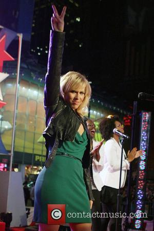 Natasha Bedingfield The Macy's 4th of July Fireworks Spectacular 2008 at the Military Island in TImes Square New York City,...