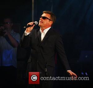 Suggs from Madness performing live at at Sandown Park racecourse Sandown, England - 07.08.08