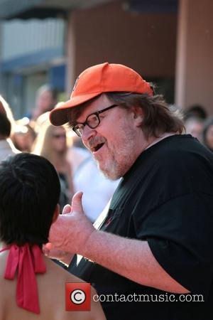 Michael Moore Premiere of 'I am because we are' held at the State Theatre Traverse city film festival  Detroit,...