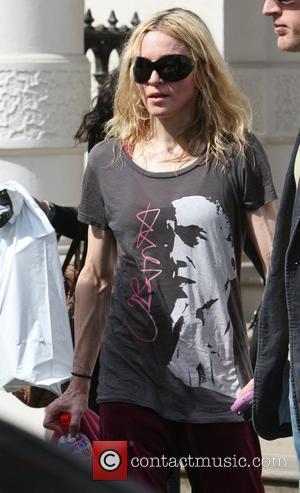 Madonna and Barack Obama