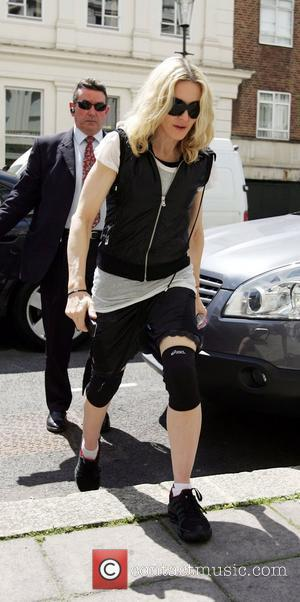 Madonna's Dyed Sheep Sparks Animal Rights Row
