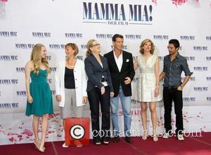 Amanda Seyfried, Meryl Streep and Pierce Brosnan