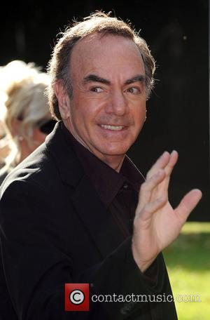 Neil Diamond Nelson Mandela birthday dinner held in Hyde Park - Arrivals London, England - 25.06.08