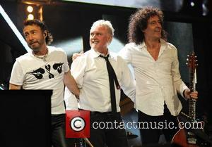 Paul Rodgers, Brian May and Nelson Mandela