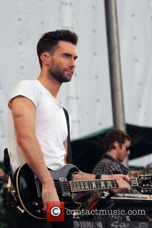 Adam Levine Maroon 5 performs live for 'Good Morning America's Summer Concert Series' in Bryant Park New York City, USA...