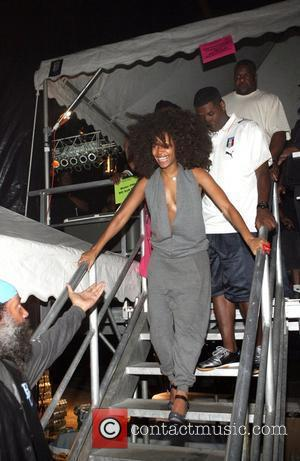 Erykah Badu The 26th Annual Martin Luther King Concert Series held at Wingate Field Brooklyn, New York City - 04.08.08
