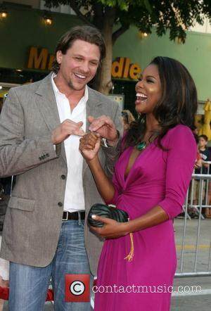 Marc Blucas and Gabrielle Union, World Premiere of 'Meet Dave' at The Mann Village - Arrivals Westwood , California -...