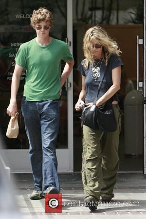 Meg Ryan and Her Son Jack Henry Quaid
