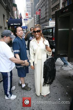 Melody Thornton of The Pussycat Dolls out and about in Manhattan New York City, USA - 04.09.08